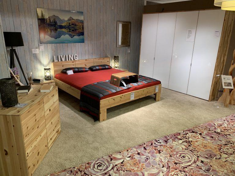 Zirbe Schlafzimmer