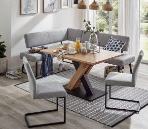 Global Carmelo Eckbank Polsterbank Sitzgruppe Stühle Möbel Gradinger Küchen Aktiv Worms