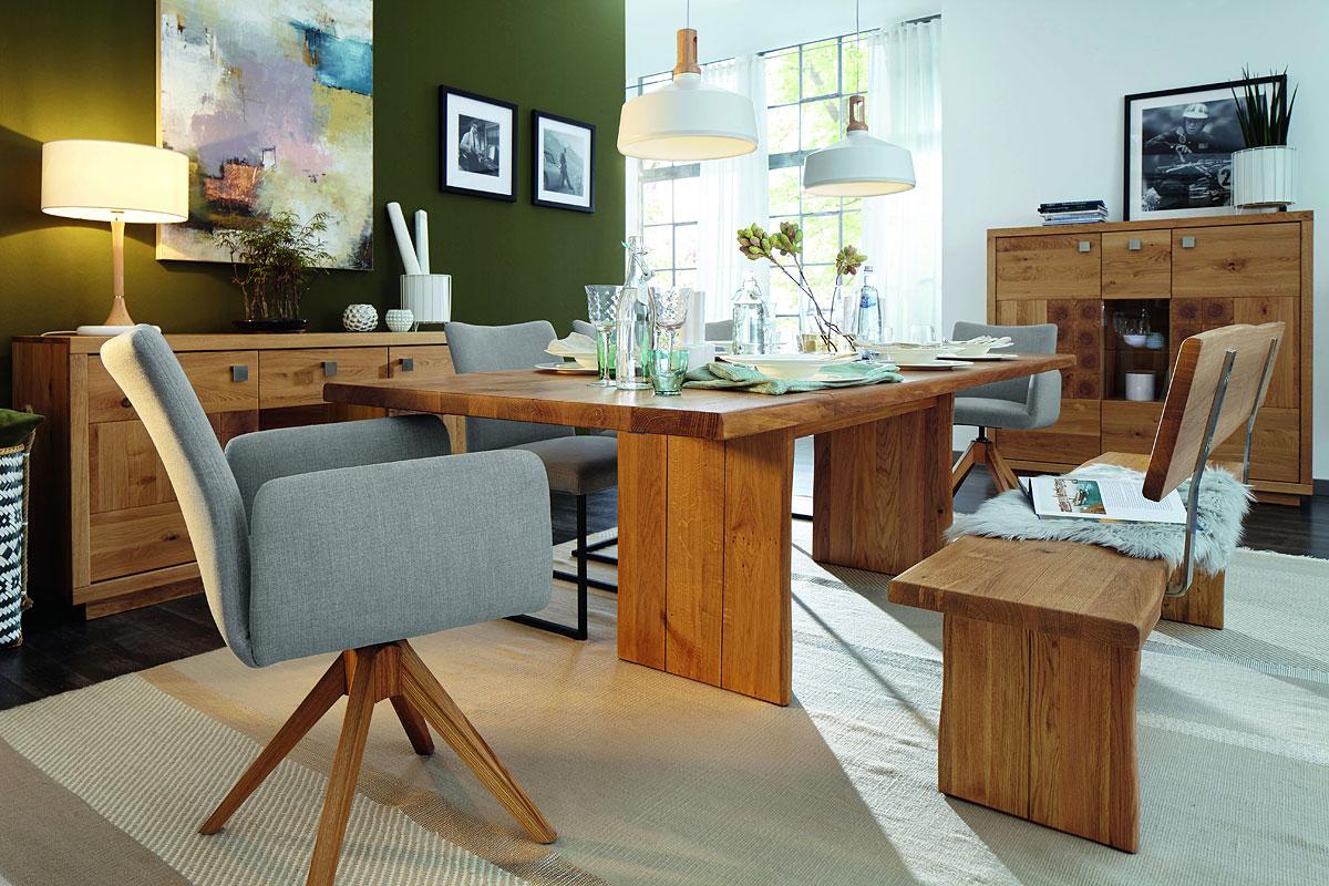Natura Wisconsin Esszimmer - Möbel Gradinger Küchen Aktiv Worms
