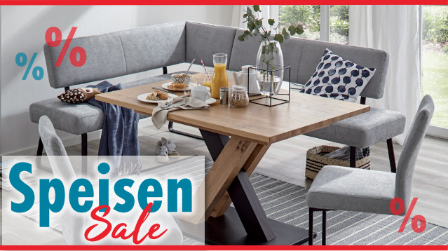 Speisen + Esszimmer Sale - Möbel Gradinger