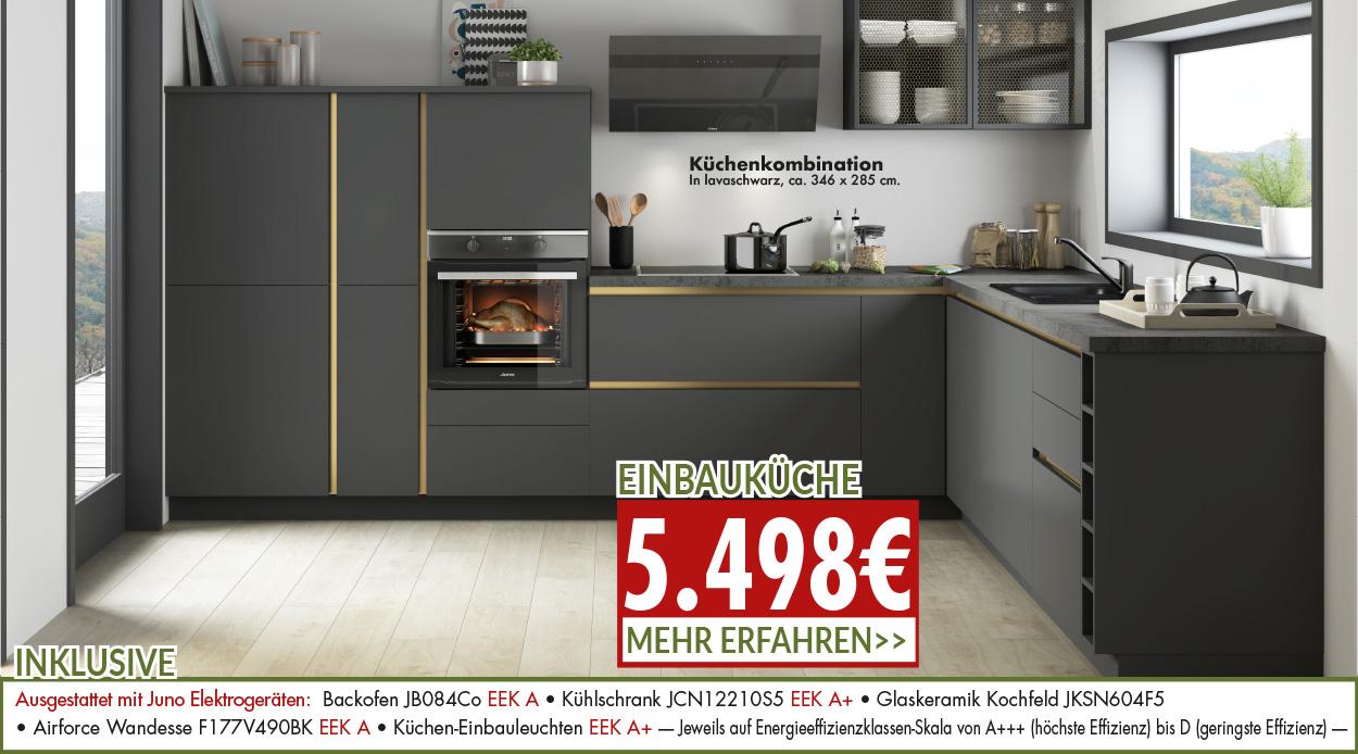 ausgefallene Küchenkombination zum Angebotspreis für nur 5498 Euro