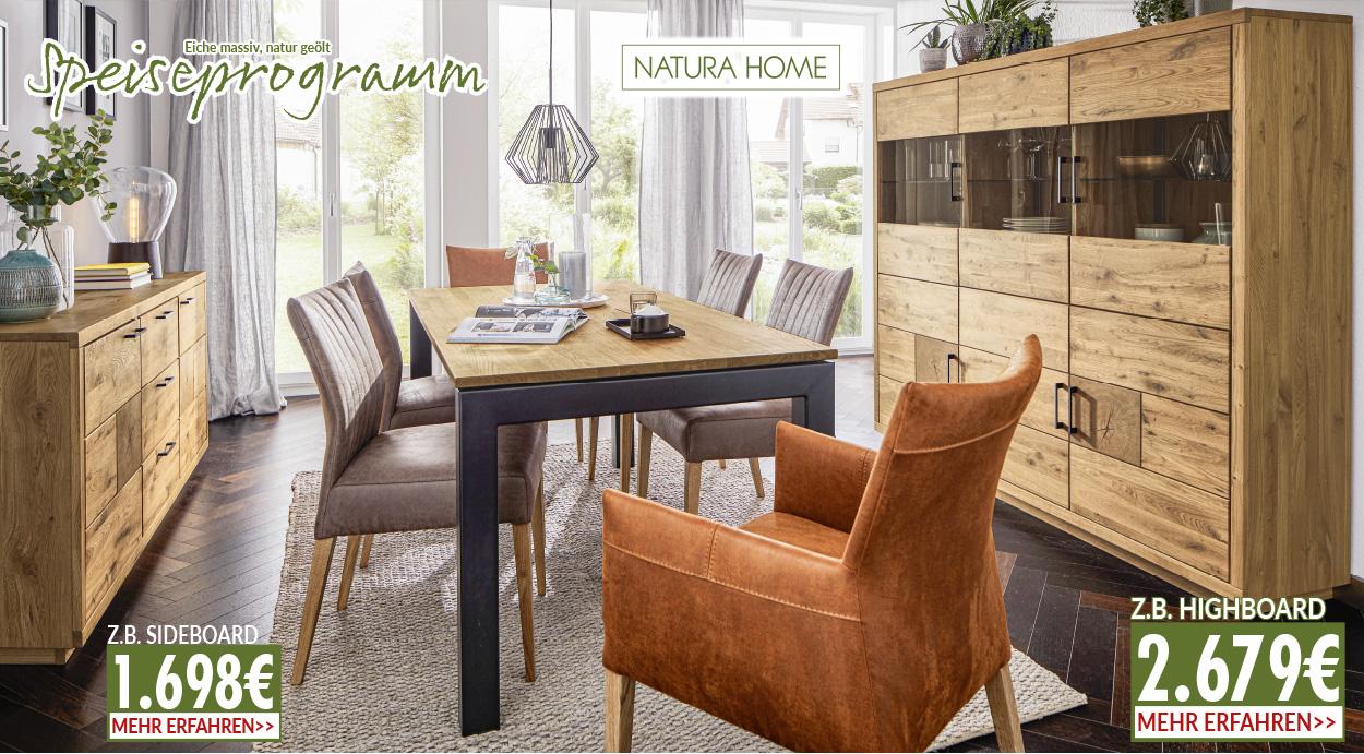 schöne Essgruppe von Natura Home bei möbel gradinger