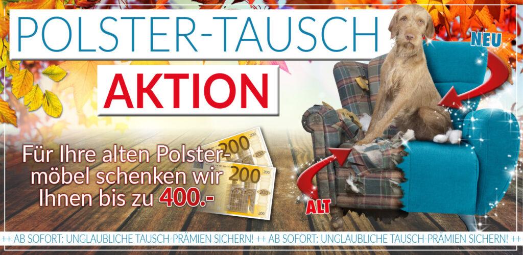 Polster-Tausch-Aktion!