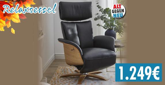 Relax-Sessel - alt gegen neu - 1249,-