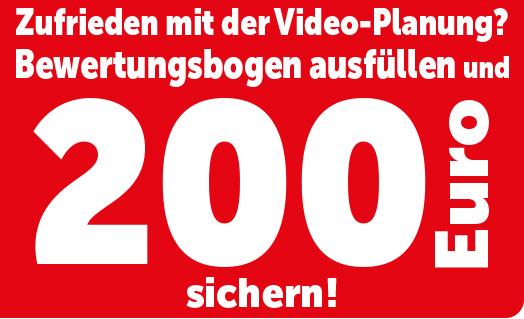 200 Euro für das Ausfüllen eines Fragebogens