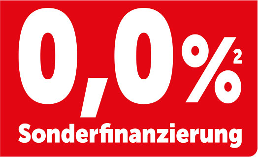 0,0 % Sonderfinanzierung