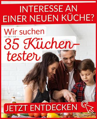 35 Küchentester gesucht! Hier geht's lang: