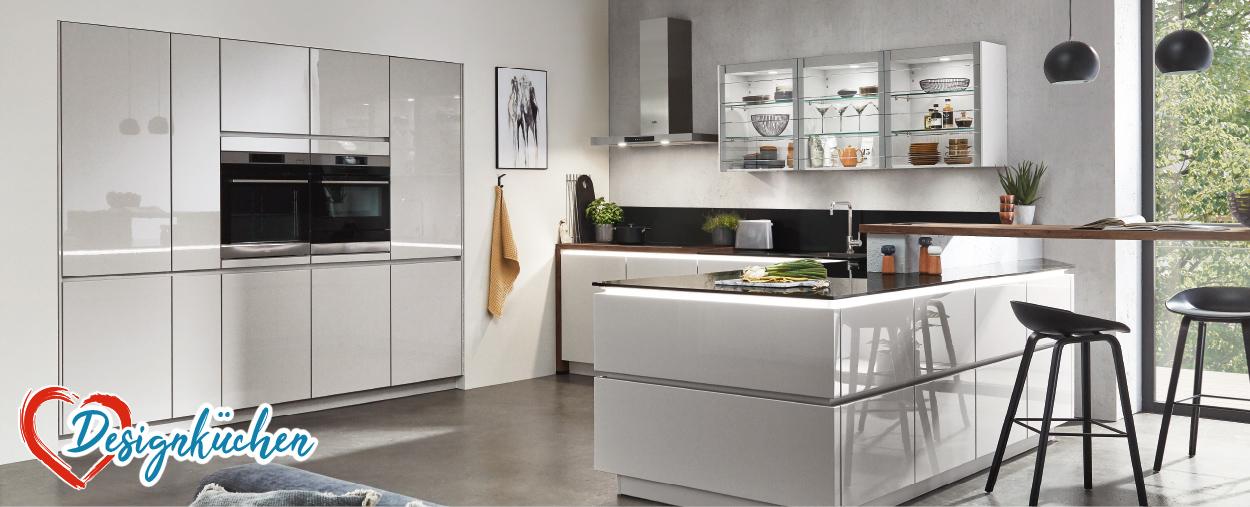 Designküchen gibt es bei Möbel gradinger