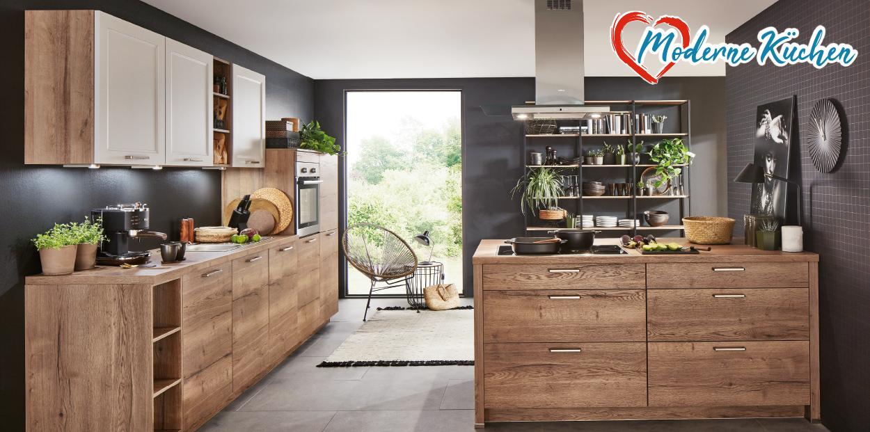 Moderne Küchen bei Möbel gradinger