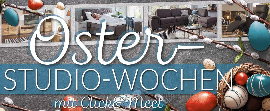 Oster-Studio-Wochen mit Click&Meet