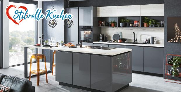 stilvolle Küchen bei Möbel gradinger vorbei schauen lohnt sich!