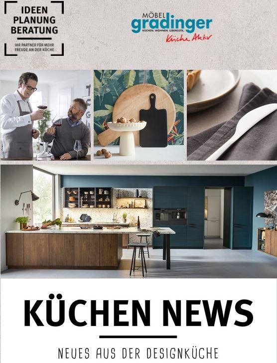 Prospekt Küchen News - Möbel Gradinger