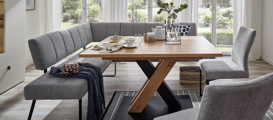 Global Carmleo Eckbank Tisch Stühle Möbel Gradinger Worms Küche Aktiv