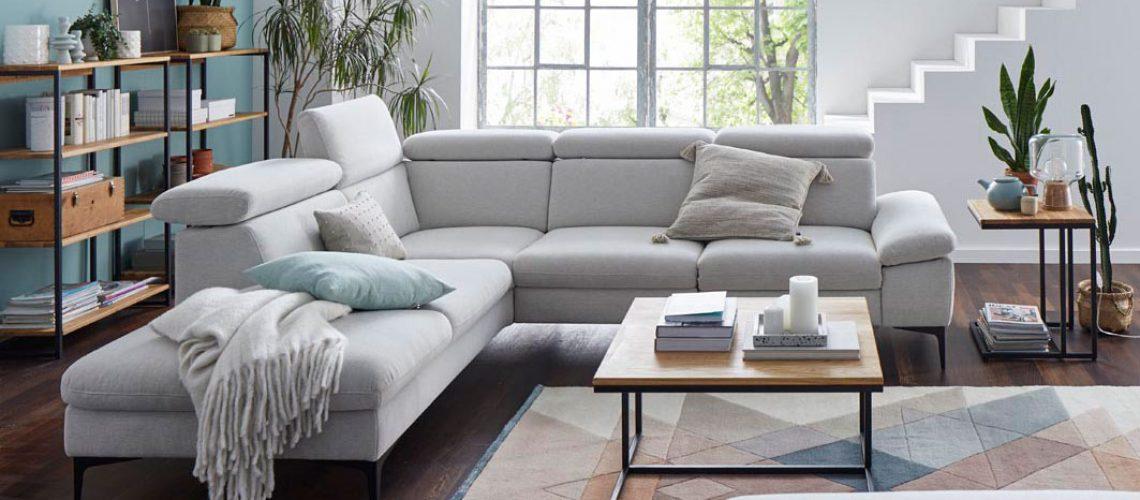 Polstergarnitur Global Felipa Sofa Couch Möbel Gradinger Küche Aktiv Worms