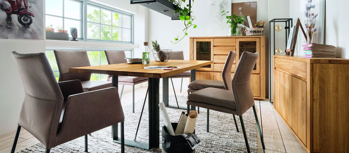 Esszimmerprogram Natura Bakersfield - Möbel Gradinger Küchen Aktiv Worms