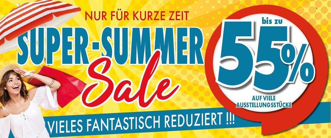 Super Summer Sale bei möbel gradinger